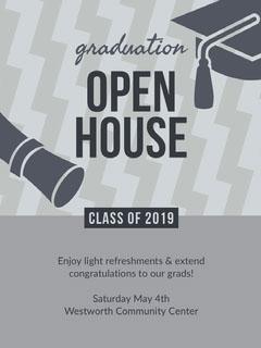 OPEN<BR>HOUSE Graduation Congratulation