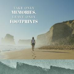 MEMORIES, <BR><BR>FOOTPRINTS Beach