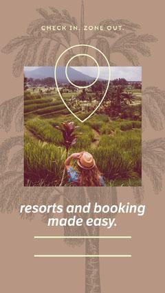 Light Toned Travel Agency Ad Instagram Story Agency