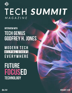 Tech Magazine Cover Tech