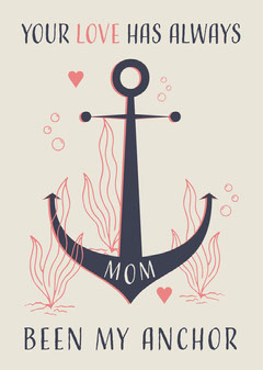 My Anchor Card Ocean