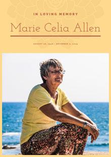 Marie Celia Allen Programa funerario