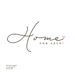 Home for Sale Instagram Square Ad House For Sale Flyer