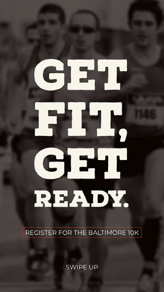 Get fit,<BR>Get ready. Fitness