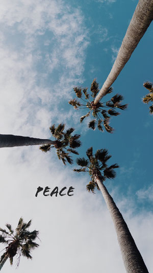peace iPhone-Hintergrundbild