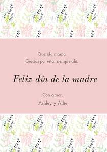 mothersdaycards Tarjeta del Día de la Madre