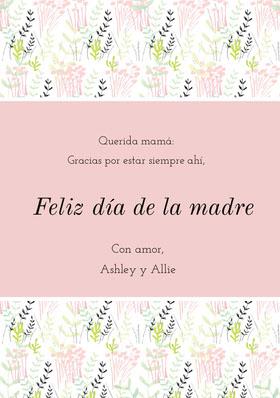 mothersdaycards Tarjeta de agradecimiento
