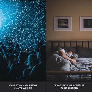 Meme Collage Friday Night Fun Instagram Post Meme