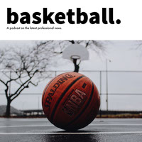 White, Black and Orange Basketball Podcast Ad Instagram Post Basketball