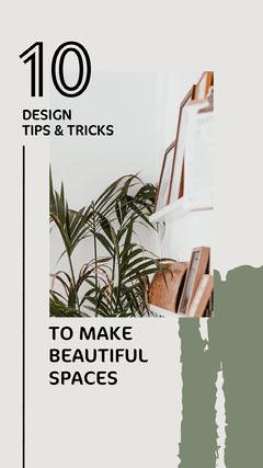 Design Tips & Tricks Instagram Story Decor