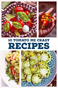 Colorful Collage Tomato Recipe Pinterest  Healthy