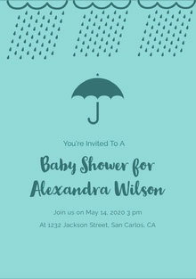 Baby Shower for Alexandra Wilson