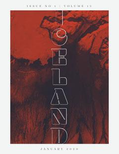 Iceland travel magazine cover Vacation