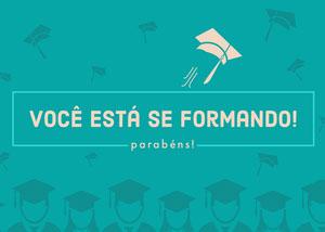 you're graduating congratulations cards  Cartão de graduação