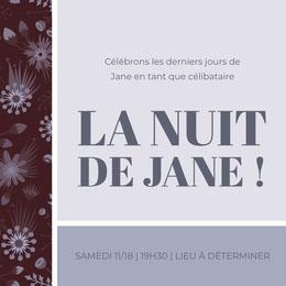 LA NUIT DE JANE !