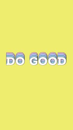 DO GOOD  Yellow