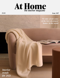Interior Magazine Cover Decor