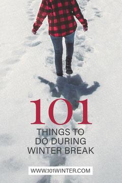 Winter Break 101 Pinterest Winter