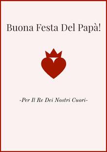 king of hearts Father's Day cards Biglietti elettronici per la festa del papà