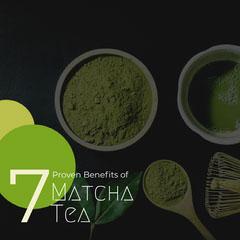 Green and Black Matcha Tea Instagram Graphic instagram posts