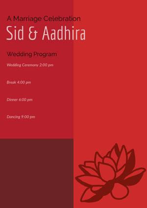 Sid & Aadhira Program