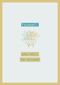 farewellcard Farewell