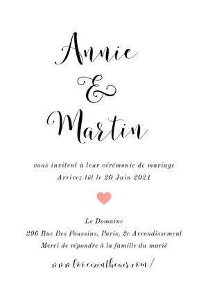 minimalistic wedding cards Invitation