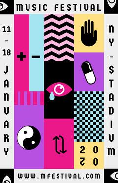 music festival poster Festival