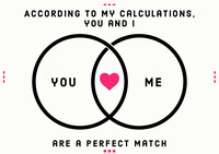 perfect match valentine card messages d'amour
