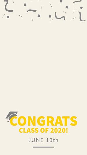CONGRATS 졸업 카드
