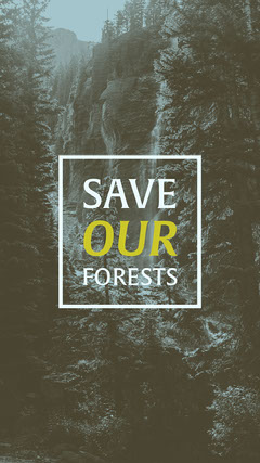 SAVE our FORESTS Forest