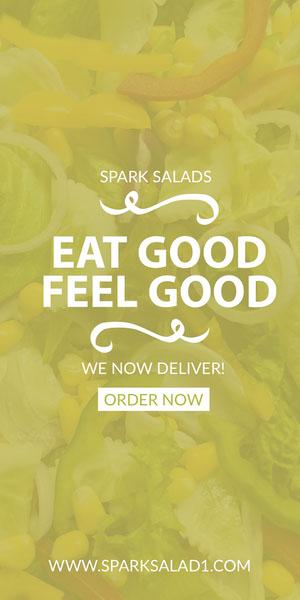 EAT GOOD<BR>FEEL GOOD Flyer de anúncio