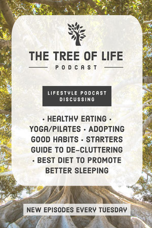 Healthy Lifestyle Podcast Portrait Graphic Yoga Posters