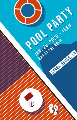 POOL PARTY Pool Party Invitation