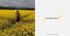 Spring is Here Facebook Post Spring