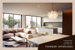 Yonder Interiors Postcard Flyer Furniture Sale