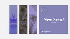 Lavender fragrances Facebook Cover Cosmetic