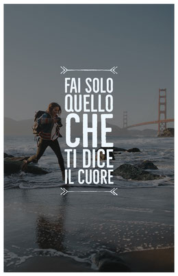 passion quote poster Volantino