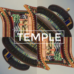 Asian Temple Travel and Tourism Instagram Square Graphic Japan
