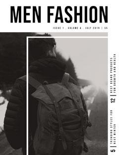 MEN FASHION Fashion Magazines Cover