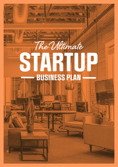 Orange Filter Open Office Startup Business Plan A4 Guide