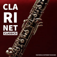 Red, White and Black Clarinet Classics Album Cover CD Cover