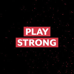 play strong - flickering words - insta square Exercises