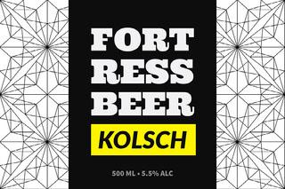 Fort Ress Beer Rótulo de cerveja