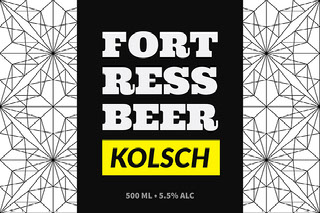 Fort Ress Beer Beer Label
