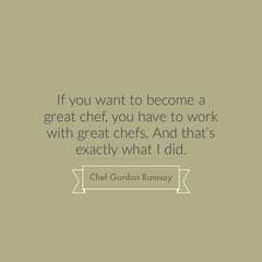 Grey, Minimalistic Cooking Motivation Quote Instagram Post Chef