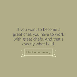 Grey, Minimalistic Cooking Motivation Quote Instagram Post Motivationsplakat