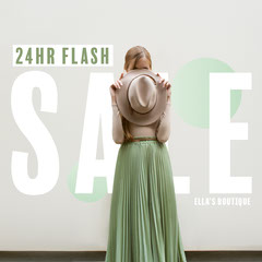 Ella Boutique Flash Sale IG Square  Dress