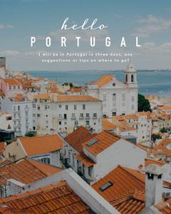 portugal instagram portrait Ocean