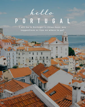 portugal instagram portrait 50 Modern Fonts